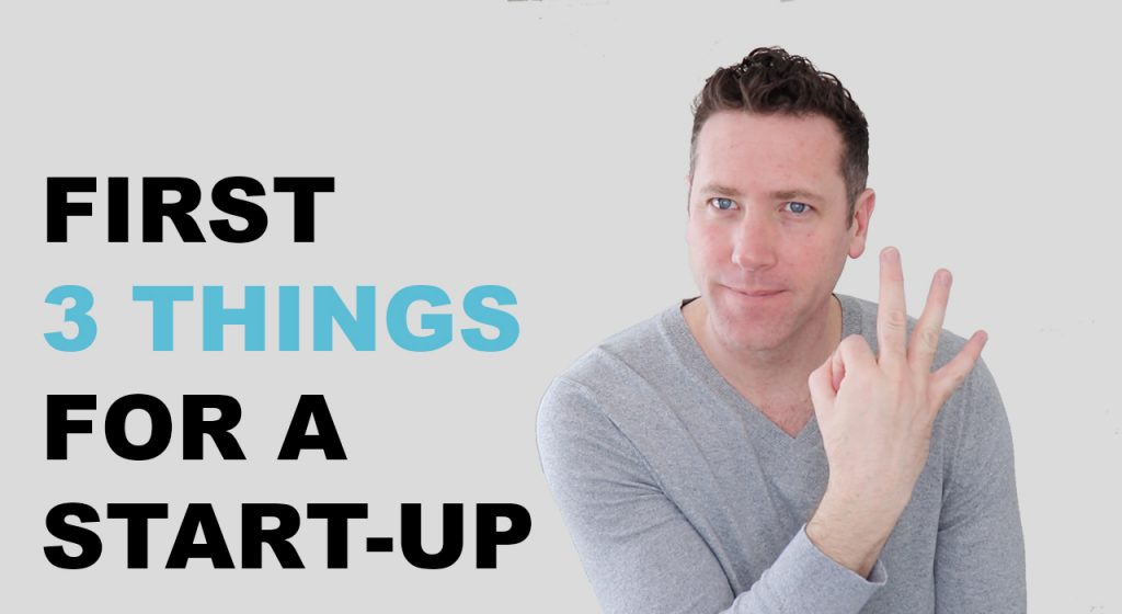 Look first 3 things for a startup