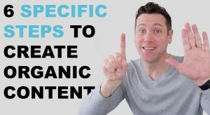 Look organic content steps